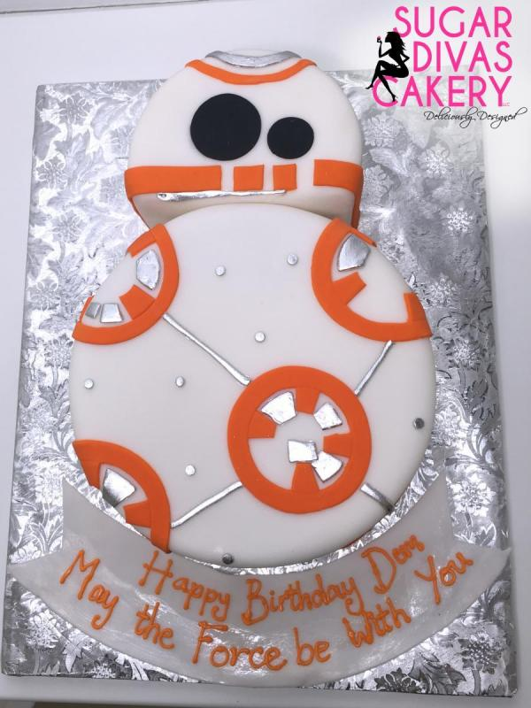 2d bb8star wars movie robot