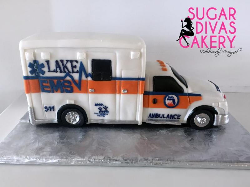 ambulance 3dvehicle medical doctor nurse emt