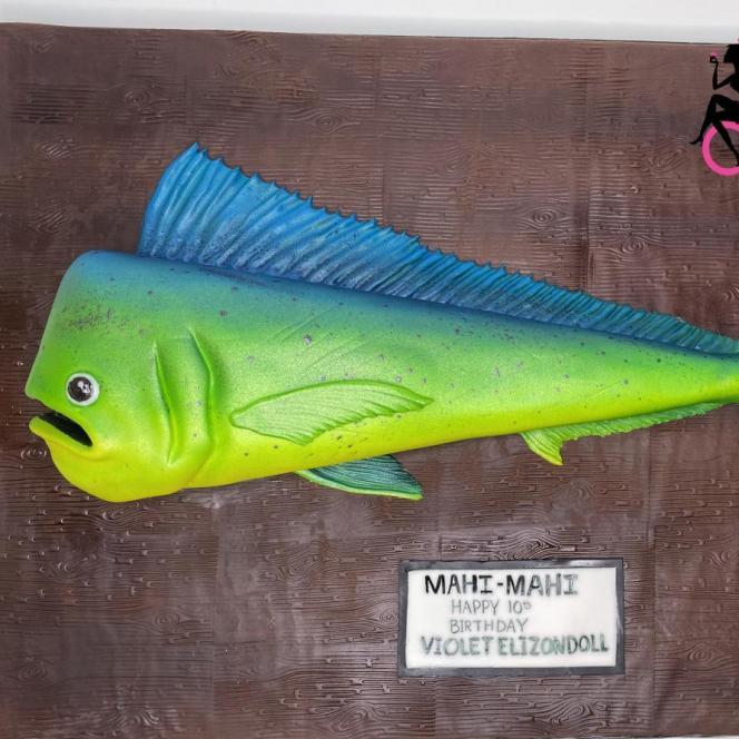 mahi mahituna fish 3d