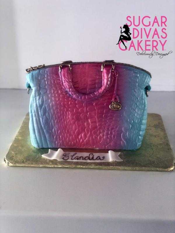 pink blue crocodile purse 3danimal skin alligator