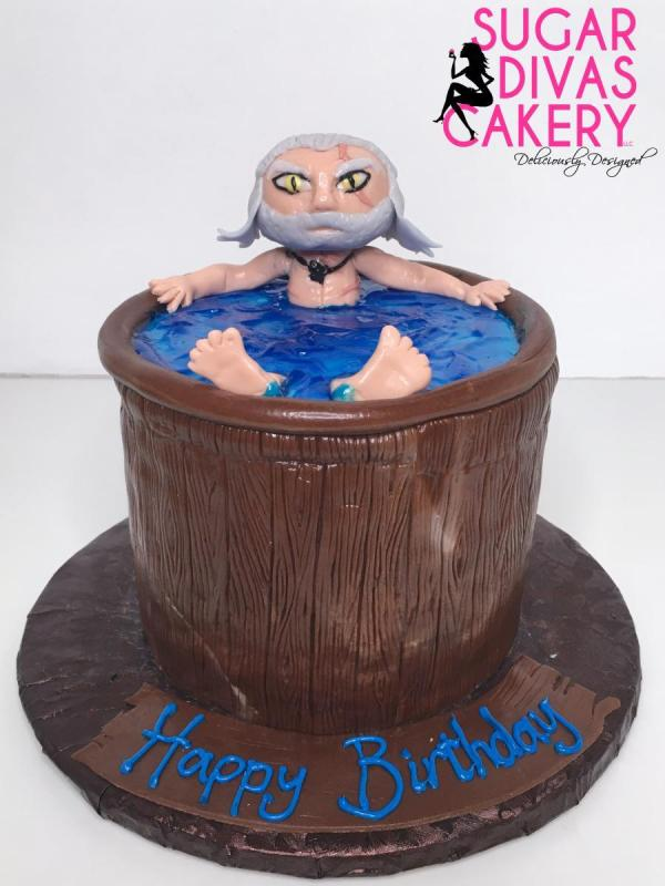 witcher tv show video game netflixhandmade fondant character