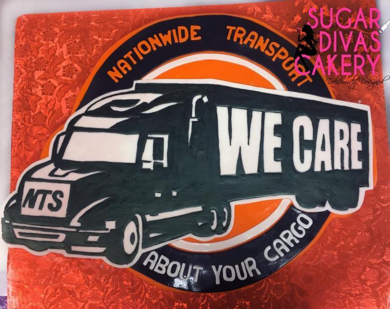nationwide transport 2dtruck logo