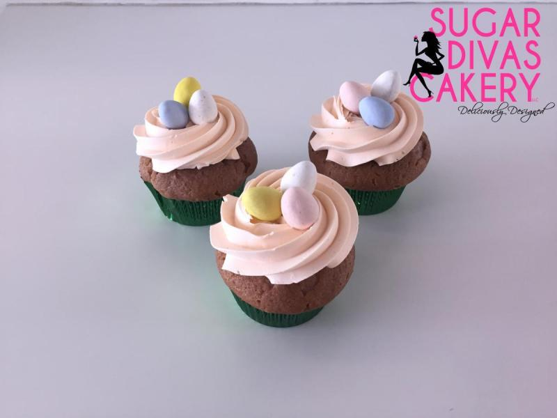 easter cupcakes eggs
