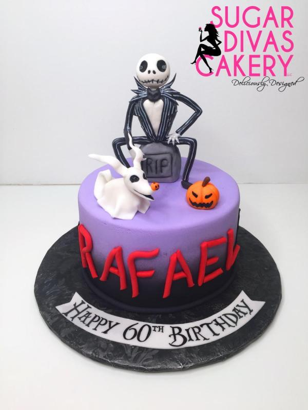 nightmare before christmashalloweenjack skellington zero pumpkinhandmade fondant characters