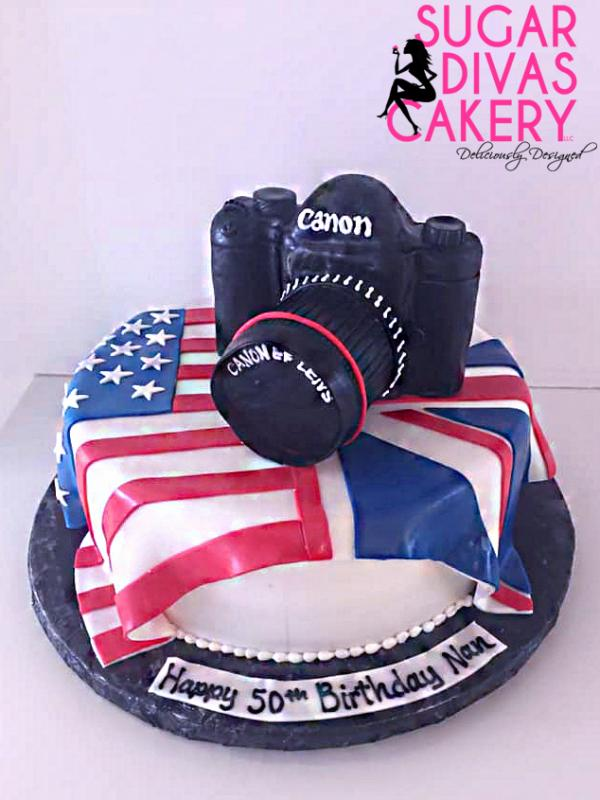 camera flag canon nikon us uk america england united kingdom photography