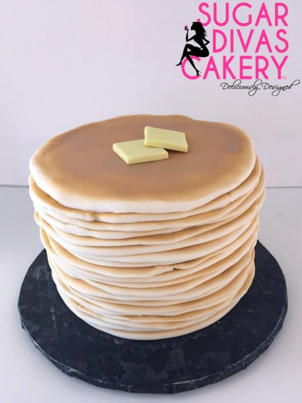 pancake stack food breakfast