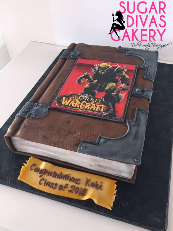 world of warcraftvideo games book journal tomeedible image ei