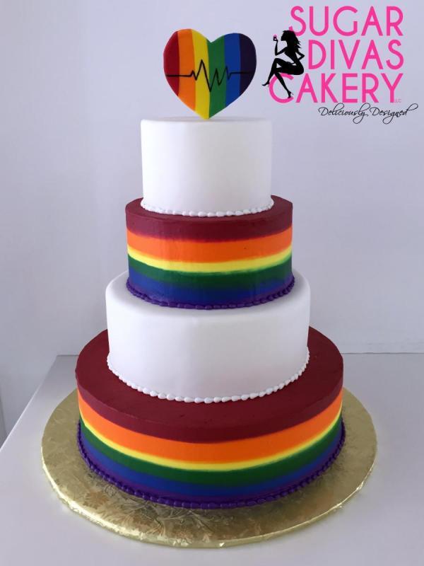 rainbow pulselgbtqbuttercream